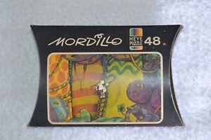 1981 Mordillo Heye Mini Puzzle 48 Pieces Format 16x10 #8146 NEW