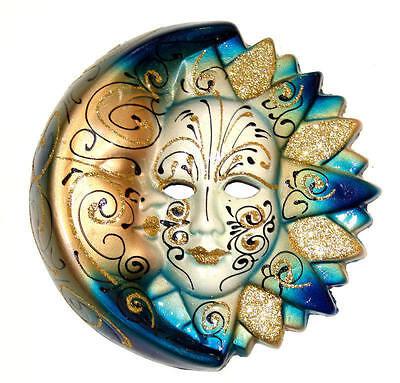 Venetian Ceramic Wall Mask Decoration European Culture Italy #9595