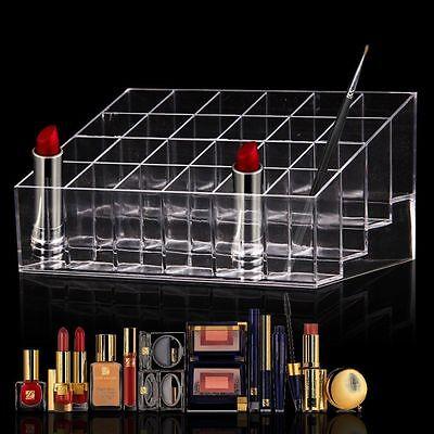 24 Compartiments Présentoir de Rouge à Lèvres Organisateur Rangement Cosmetique