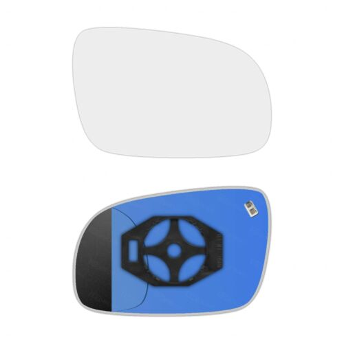 Right Side Clip On Heated Mirror Glass for Volkswagen Polo 2000-2002 0224RSHP