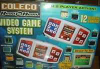 2005 Coleco Video Game System 12 Games Football Soccer Plug Play Car Race