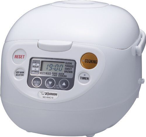 Zojirushi NS-WAC10-WD 5.5-Cup Uncooked Micom Rice Cooker and Warmer Rice Cookers