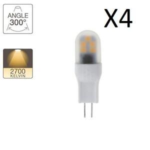 Ampoules-LED-Xanlite-culot-G4-2-2W-lumiere-blanc-chaud-lot-de-4