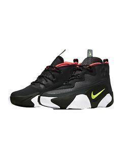 Men's Nike React Frenzy Dark Smoke Grey/Black-White-Volt (CV1720 001)