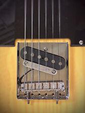 Brenner piezo-one™ Tele bridge hybrid guitar conversion saddle kit
