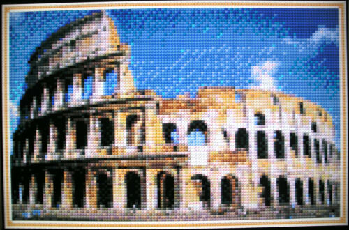 ROME COLOSSEUM ~ Counted Cross Stitch KIT #K929
