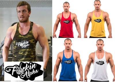 Uomini Bodybuilding Palestra Canotta Tank Top Allenamento Muscolo Canottiera Top Sport Camicia Body-