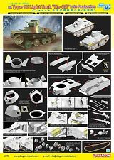 "1/35 DRAGON IJA Type 95 Light Tank ""Ha-Go"" Late Production - Smart Kit #6770"