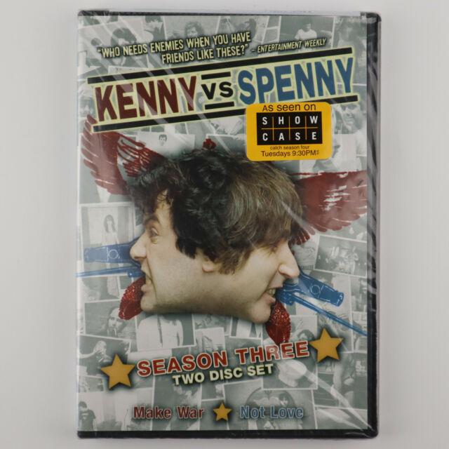 KENNY vs SPENNY Season 3 Three (DVD 2-Disc Set) NEW SEALED RARE OOP Box Set