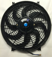 14 Inch Electric Universal Auto Cooling Radiator Fan Hot Rod W/ Mount Kit