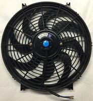 14 Inch Electric Universal Auto Cooling Radiator Fan Hot Rod W/ Mount Kit