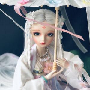 1-3-BJD-Doll-60cm-Maedchen-Puppe-Make-up-Augen-Kleidung-Regenschirm-Gift