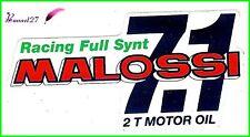 Ancien Autocollant Stickers Racing Full Synt MALOSSI 7.1
