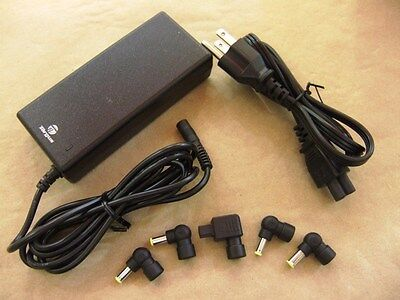 TARGUS universal charger AC adapter notebook laptop + 5 tips PA-1900-04 APA03US