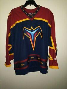 Mens-NHL-Atlanta-Thrashers-CCM-Hockey-Jersey-Large