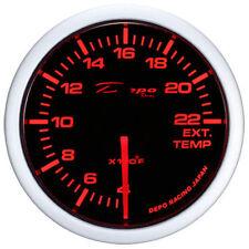 Depo Racing 52mm WA EGT Temp Gauge Smoked Lens WA5257B