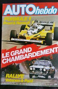 AUTO-HEBDO-282-du-3-09-1981-Essai-Mazda-RX-7-TWR-Coupe-Talbot-Lotus-Hollande