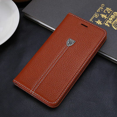 For Apple iPhone 6S 6 Plus Luxury Leather Flip Cover Credit Card Wallet Case