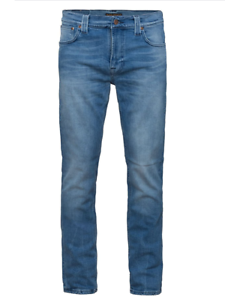 Nudie-Herren-Slim-Fit-Stretch-Jeans-Hose-Thin-Finn-Moody-Blue