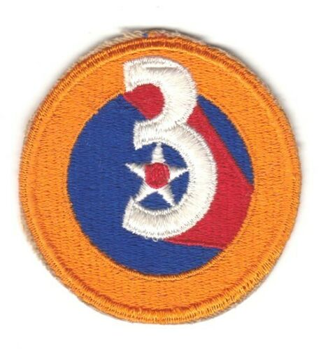 3rd Air Force Army Air Corps Patch
