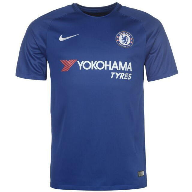 NIKE Chelsea Maillot Domicile 2017 2018 taille HOMMES 2XL ref c3319