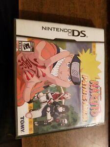 Naruto-Path-of-the-Ninja-Case-no-game-inside-Nintendo-DS-no-manual