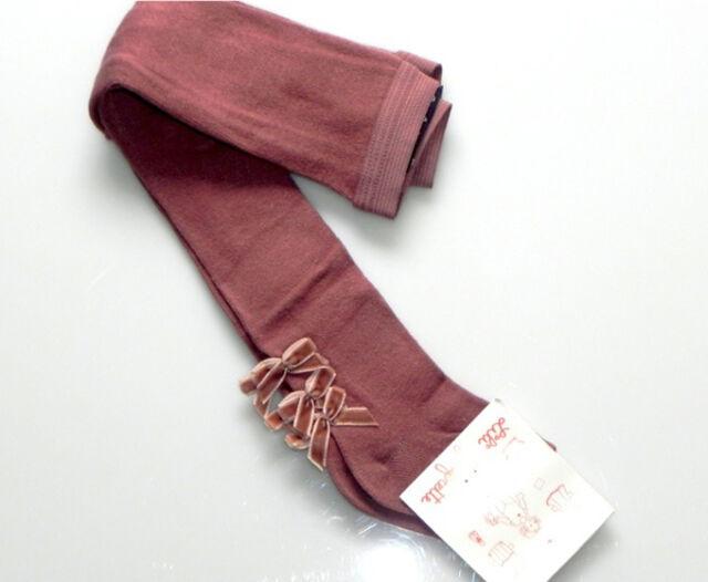 Lili Gaufrette baby girls Sz 3M 000 - 00 tights stockings NWT ribbon detail