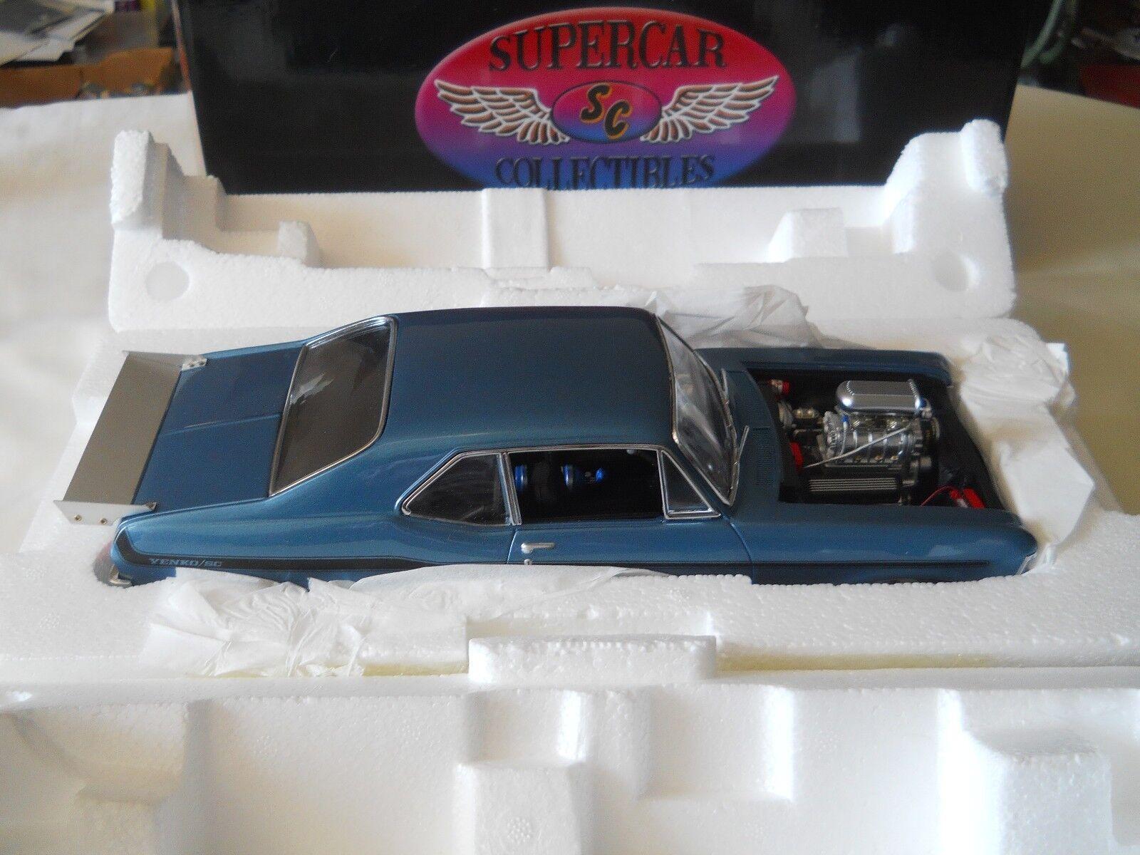 Gmp supersportwagen collectibles 1969 chevy nova 1 420 teil 18809 1,18 druckguss w - box