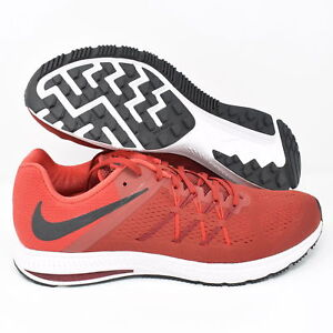 separation shoes e64aa 6956a Details about Nike Zoom Winflo 3 831561-602 Mens Running Shoes Red Black &  White