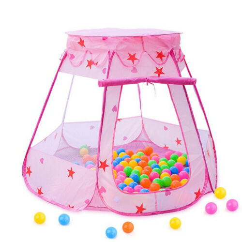 Portable Folding Playpen Baby Kids Play Yard Play House Indoor Outdoor