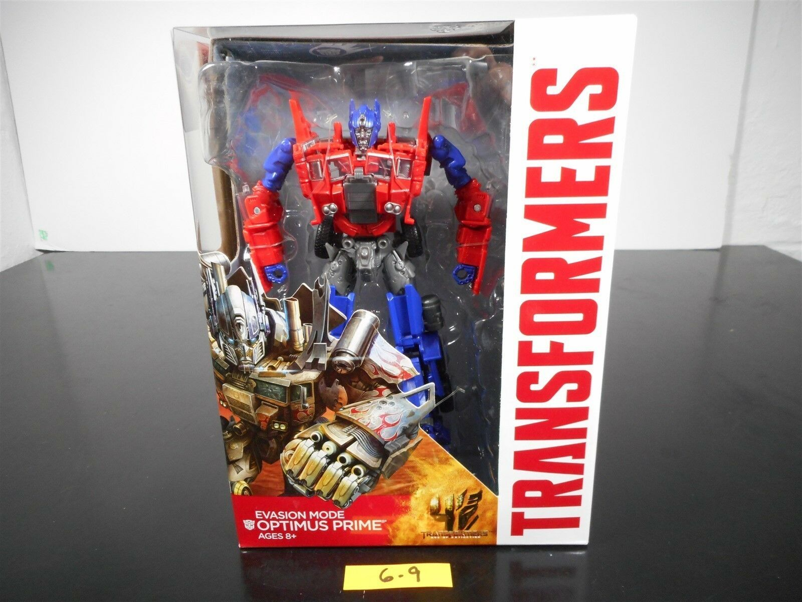 MINT & SEALED   TRANSFORMERS EVASION MODE OPTIMUS PRIME AGE OF EXTINCTION AOE 69