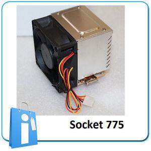 Dissipatore Raffreddamento ventilatore Kuhlkorper 775 Socket intel laterale CPU f1xCfwqSP