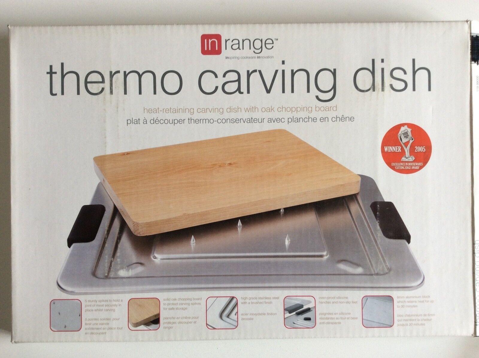 InRange Thermo Heat-retaining Carving Dish