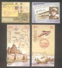 PHILA-2686a INDIA 2011 INDIPEX 2011 100 Yrs OF AIRMAIL SET OF 4 STAMPS MINT MNH