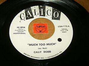 CALLY-DODD-MUCH-TOO-MUCH-YOU-039-RE-MY-LOVER-LISTEN-VOCAL-JAZZ-POPCORN