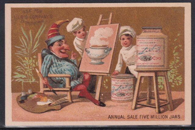 1875-84 VINTAGE ENGLISH LIEBIG TRADE CARD #87g !! AA17