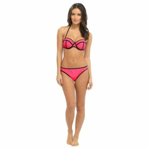 New Womens Bikini Swimwear Swimsuit Beach Wear Swim Suit Padded Bandeau Crochet