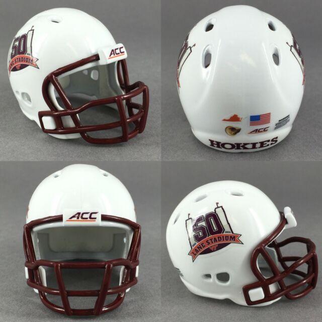 Virginia Tech Hokies 50 Years of Lane Stadium Commemorative Pocket Pro Helmet