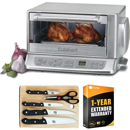 Cuisinart TOB-195 Exact Heat Convection Toaster Oven Broiler Warranty Bundle