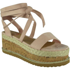 39bf9bc6091 item 2 Womens Ladies Lace Up Tie Up Espadrilles Platform Shoes Wedge  Sandals Size -Womens Ladies Lace Up Tie Up Espadrilles Platform Shoes Wedge  Sandals ...