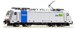 Acme 60404 186 110 Rail Pool Nolisé Bls Cargo , Livrée Gris, Bandeau Bleu