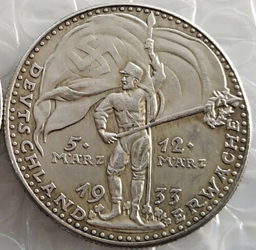 Free Coins 1933 #20 1933 Hitler // Germany Exonumia Coin January 30