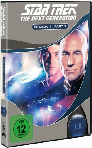 1 von 1 - STAR TREK: THE NEXT GENERATION, Season 1.1 (3 DVDs) NEU+OVP