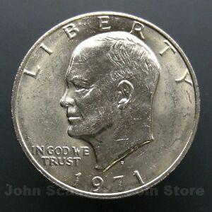 1971-D-Eisenhower-Dollar-BU-Brilliant-Uncirculated