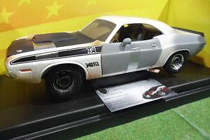 Dodge Charger T / a 1970 Diamant Au Brut Au 1/18 D Américain Muscle Ertl 36683