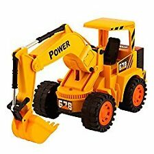 NEW Kids JCB Truck Deluxe Wireless Remote Control Rechargeable
