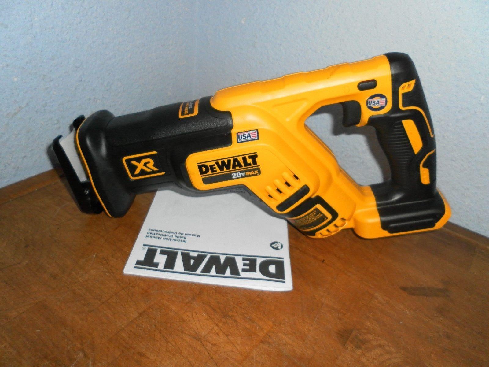 Dewalt DCS367  DCS367B 20V Max XR Brushless Compact Reciprocating Saw