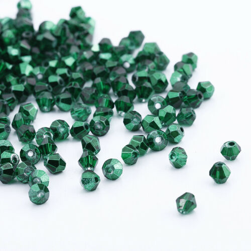 U Pick colors 100pcs 3mm Glass Crystal #5301 Bicone beads Free Shipping