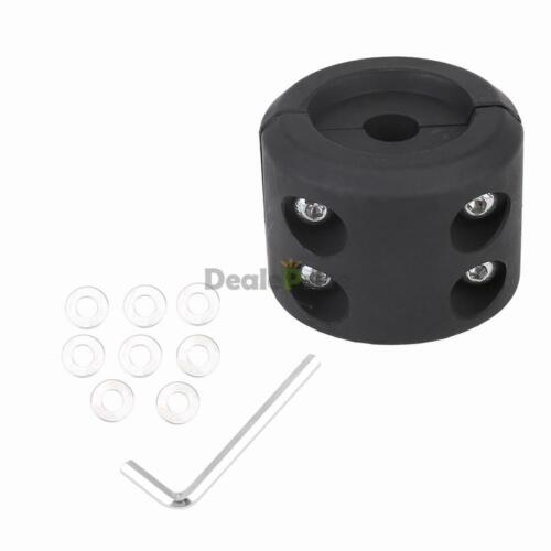 Black KFI ATV UTV Winch Split Cable Hook Stopper ATV-SCHS