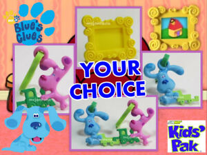 Subway 2000 BLUE'S CLUES BEST FRIENDS Blue KEY CLIP ON Photo Frame Dog PICK TOY | eBay